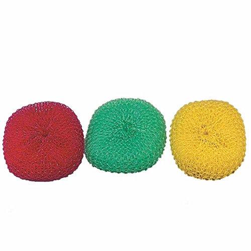 SANTEX Plastik Topfreiniger 3 Stück Mehrfarbig