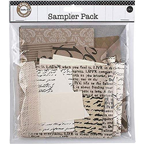 Canvas Lienzo Corp Paper Sampler Pack 0.25lb-Light Neutro