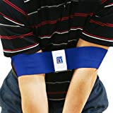 PGA Tour Entrenador de Swing con DVD de Entrenamiento, Unisex, Azul