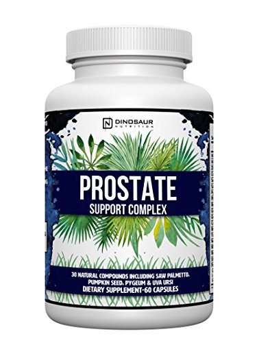 Complete Natural Prostate Health Supplement - Mens Prostate Support Formula with Saw Palmetto, Beta-sitosterol, Medicinal Mushrooms - Potential DHT Blocker & Helps Promote Testosterone