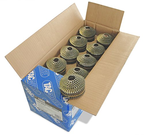 Tacwise 1008 Coilnägel (Glänzed Glatt Kugelförmig 2,1/45mm) 14.400 Stück pro Box