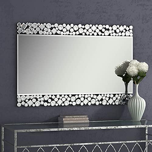 MUAUSU Decorative Wall Mirror - Large Rectangle Accent Mirrors,24