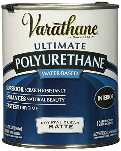 Rust-Oleum 262074 Ultimate Polyurethane Water Based, Quart, Matte
