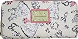 Loungefly x Disney Beauty and the Beast Belle Pink Allover-Print Zip-Around Wallet
