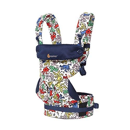 ERGObaby BC360AKHWHT Original 360 Babytrage – Keith Haring - Pop, mehrfarbig