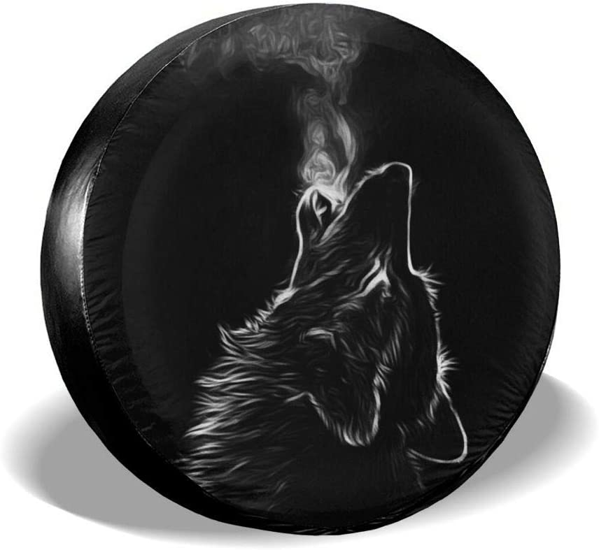 Black Max Courier shipping free shipping 70% OFF 3D Wolf Spare Tire Cover Dust-Proof Sun Waterproof Whee UV