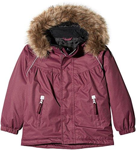 NAME IT Mädchen NITPOWDER Jacket MZ G FO Jacke, Violett (Prune Purple), 122