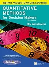 Best quantitative methods for decision makers 5th edition Reviews