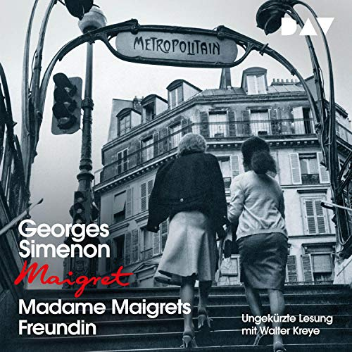 Madame Maigrets Freundin cover art