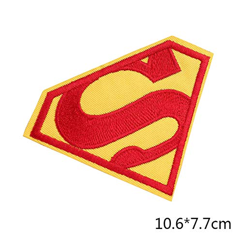 Demana Patch Parche DIY Superman Ultraman Bordado