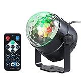 3W RGB Control remoto Mini LED bola mágica lámpara efecto luz de la etapa para discoteca KTV Club barra Inicio partido