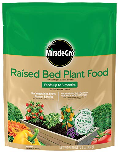 Miracle-Gro Raised Bed Plant Food, 2-Pound