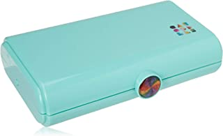 Caboodles Rainbow Rad - Take It Touch-Up Tote Makeup Organizer, Bright Turquoise