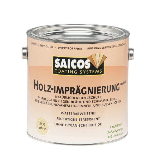 Saicos 9000 500 Holzimprägnierung Farblos 2.5 l