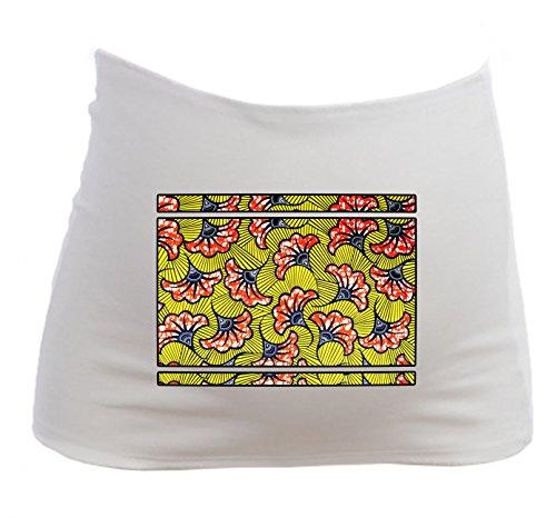 YONACREA - Bandeau de Grossesse - Imprimé Wax