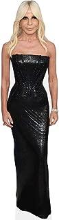Donatella Versace (Black Dress) Life Size Cutout