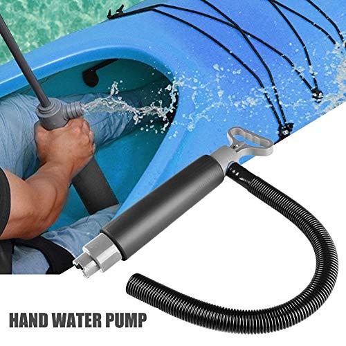 Bomba de agua manual con manguera, para canoas, barcos de mano, kayak, bomba de agua manual, bomba de drenaje, accesorios para kayak, kayak, kayak, etc.