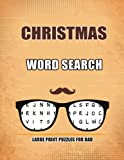 Christmas Word Search Large Print Puzzles for Dad: Word search puzzle book
