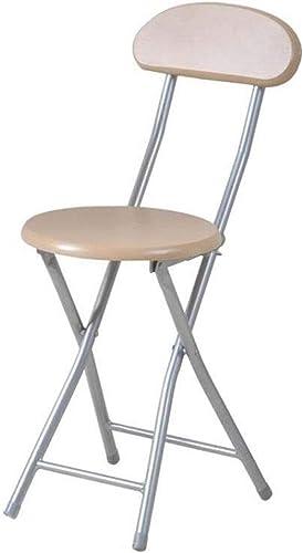 LLRDIAN Chaise Pliante Portable Pliant Tabouret dinant la Chaise Tabouret Chaise de Bureau Chaise d'ordinateur Chaise de Loisirs Chaise Chaise Pliante Simple