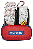 Lifeline 30 Piece First Aid Emergency Kit - Small and Compact...