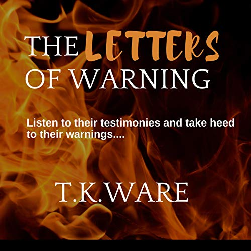 The Letters of Warning audiobook cover art
