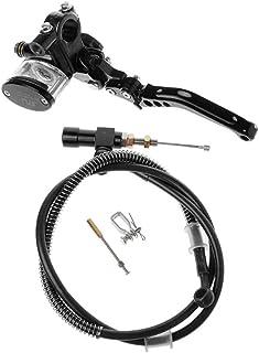 Bweele Motocicleta CNC Kit de Embrague hidráulico, Motocicleta Universal Freno Embrague Cilindro Maestro Palanca de