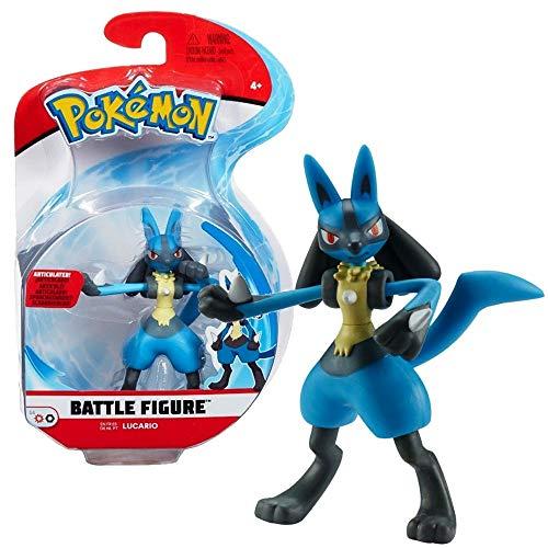 Auswahl Battle Figuren | Pokemon | Action Figur | Spiel-Figur zum Sammeln, Spielfigur:Lucario