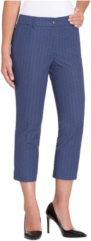 Hilary Radley Women's Stretch Slim Leg Crop Pant