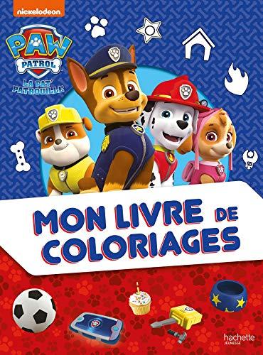 Pat' Patrouille - Mon livre de coloriages