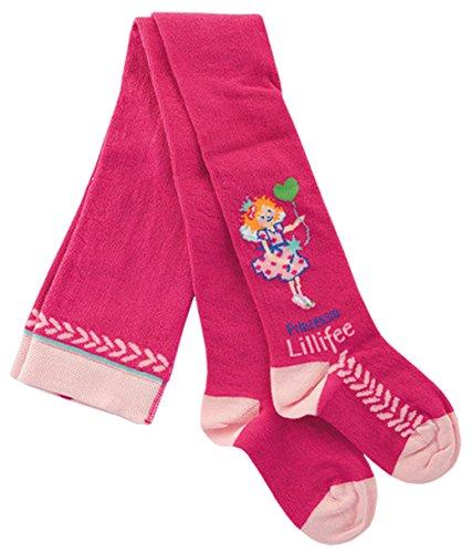 Prinzessin Lillifee Strumpfhose Kinder pink - Süße Mädchenstrumpfhose mit Motiv, Größe 74-128, Kids 2:74