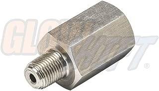GlowShift 1/8-27 NPT Diesel Fuel Pressure Stone Snubber Valve Thread Adapter for Dodge Ram 12v Cummins, 24v 5.9L Cummins & 6.7L Cummins
