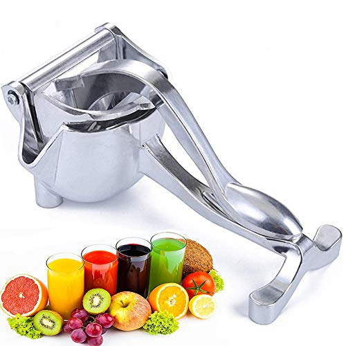 Newly Stainless Steel Manual Fruit Juicer Heavy Duty Alloy Lemon Press Squeezer Premium Quality Lemon Orange Juicer,Simple Fruit Press Squeezer Citrus Extractor Tool