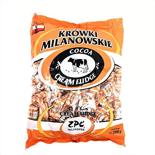Krowki Milanowskie Cocoa Cream Fudge (Cocoa, 1000g)