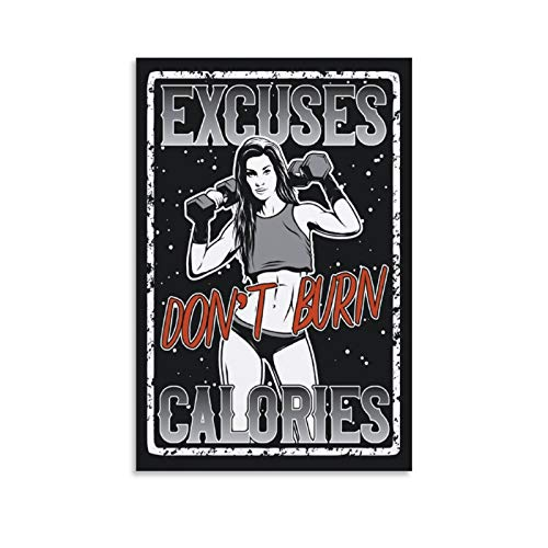 Pósteres The Gym Is My Playground Fitness Posters Macho Man Fitness Girl Gimnasio Art Print Póster decorativo Cuadro Cuadro Cuadro de pared Arte de Sala de estar Pósters Dormitorio Pintura 30 x 45 cm
