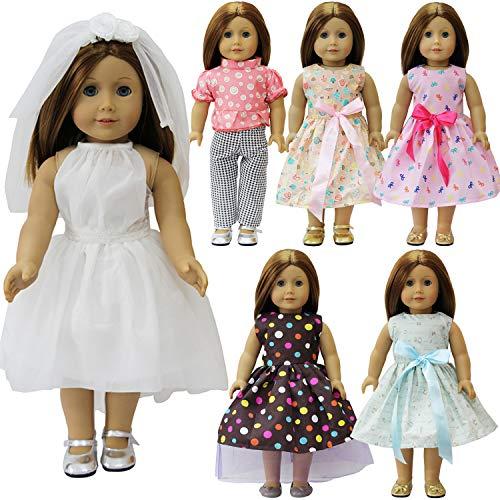 Bambole VESTITI 43cm Fiore Baby Born Set Vestiti Abbigliamento Vestiti Ragazze giovani