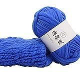 FeiliandaJJ Wolle Zum Stricken & Häkeln 50g Polyester Hand Strickgarn Strickwolle für Hüte Pullover Schal Decke Strickprojekt - 8 Farben