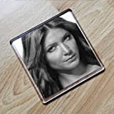 LISA SNOWDON - Original Art Coaster #js002 by Coasters - Models
