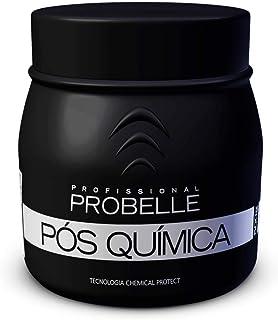 Máscara Pós Química 500 g, Probelle Cosmeticas Profissionais, Preto