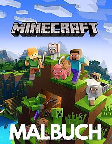 Minecraft Malbuch: Wunderbares Minecraft-Malbuch, Erstaunliches Malbuch für Jungen und Mädchen
