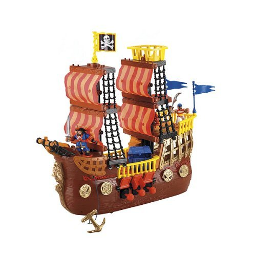 Fisher-Price Imaginext Adventures Pirate Ship