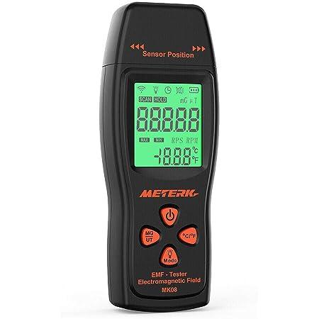 Ghost Hunting LCD EMF /& Temperature Meter with Alarm Paranormal Equipment UK