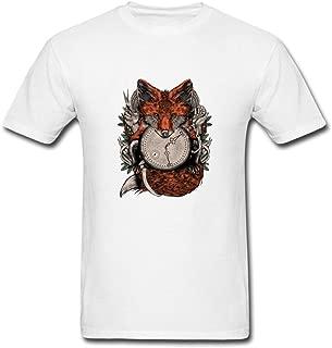 Pingteam Men's Hand Fox art T shirts