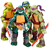 TREEMEN Tartarughe Ninja Set di Action Figure delle,Teenage Mutant Ninja Turtles Action Figure Anime Character Model Toys per Compleanno dei Bambini,4.8inches