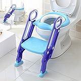 Aitsite Toilettensitze mit rutschfesten Leiter Schritt T?pfchen & Trittschemel Griff f¡§1r Kinder Babys Kleinkinder