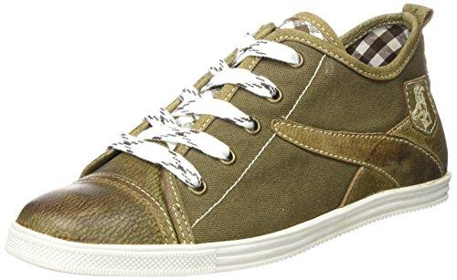 Spieth & Wensky Herren 589 H Staven Sneaker, Braun (Braun/Wolf/D, Braun 2828), 43 EU
