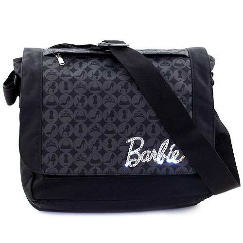 Target Shoulder Bag Barbie schoudertas, 37 cm, zwart (Nero)