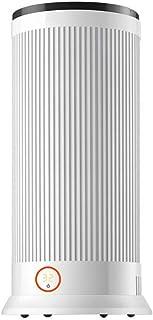 Calefactor Cerámico De Torre con Pantalla Digital, Control Remoto Y Termostato Ajustable 1100W / 2200W 220V Blanco