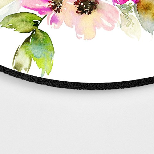 Beautiful Watercolor Flower Round Mouse pad Customized Non Slip Rubber Round Mouse pad Non Slip Rubber Mouse pad Gaming Mouse Pad Photo #3