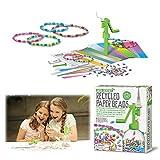 4M - Fun Crafts Perline con Carta Riciclata