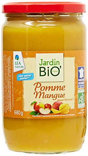 Jardin Bio Dessert Biofruits Pomme Mangue 680 g